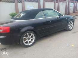 Registered 2004 Audi A4 (coupe)
