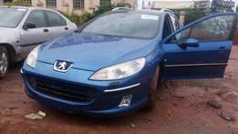 Fairly Tokunbo Peugeot (407) Manual; (EW10) Engine