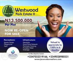 Get 500% ROI when you buy westwood park estate selling with C of O
