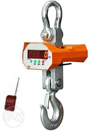 Scale Hanging Digital 3000 KG NEW factory restaurant pos ميزان