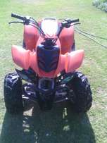 150 cc automatic quad with reverse