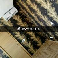 Korean wall papers now available. Only at Fracan Wallpaper Ltd Abuja