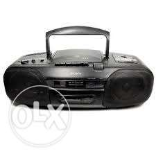 Sony CD big radio cassette FM