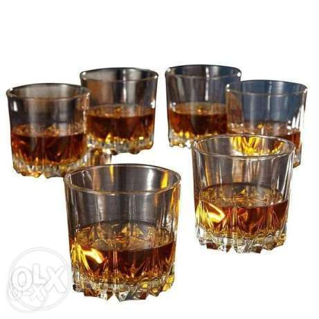 Unbranded Whiskey Glass Set - 6 Pieces - Clear Nairobi CBD - image 2