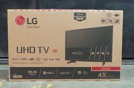 43 inch LG 4K UHD smart digital TV 43UF680T (2 year warranty) Nairobi CBD - image 1