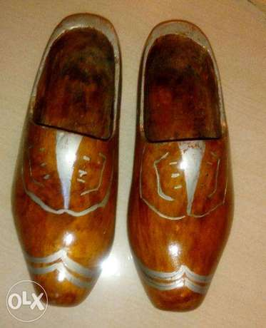 wooden shoes made in holland size 43/44