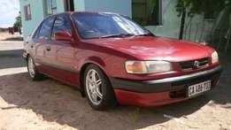 1998 Toyota corolla rsi for only R24000