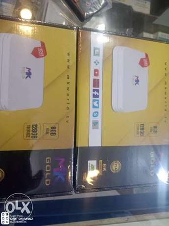 Android box with one year subscription 20 rayl