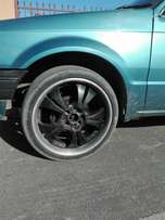 17 rims with 8 holes
