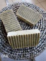 Natural soap and Blackseed oil.