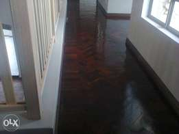 Parquet flooring refurbished by expects
