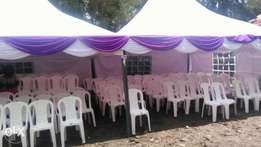 Tents, chairs, tables for hire