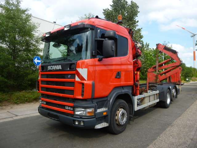Scania R124-6x2 - 2002