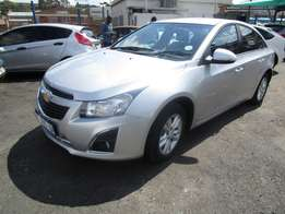 Finance available for 2014 Chevrolet Cruze diesel,silver in color