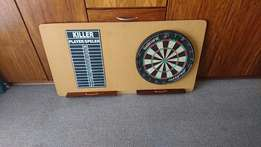Lapa, Braai Bargain ! Unicorn Bristle Dart board and score on Board !