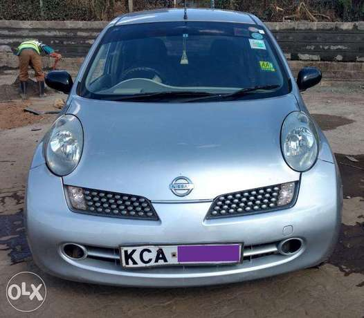 NISSAN MARCH - Well Kept/ Fully Serviced. 450,000 Negotiable Kasarani - image 1