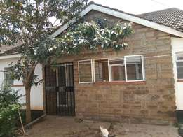 Spacious 3BRM Bungalow with SQ in Ngei, Lang'ata to let
