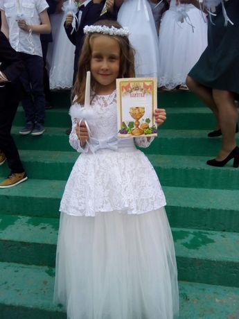 Архів  Біле плаття на причастя  700 грн. - Одяг для дівчаток Коломия ... dba1719e2c6de