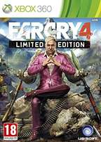 New (Sealed) FarCry 4 Limited Edition for XBox 360 for sale or swop