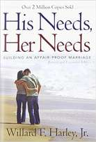 "Gift to dating couples: the book ""His Needs, Her Needs"""
