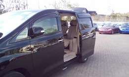 Toyota Alphard Royal Lounge V 3450 Cc Petrol Engine 2013,Black Colour