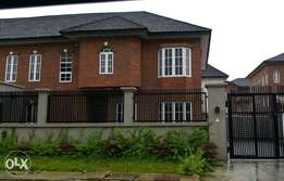 A WING of 4Bedroom duplex with a room bq n enough parking space