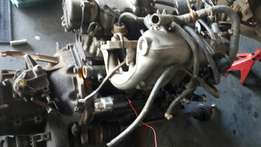 Opel 1800 feul injection engine plus box and cvs