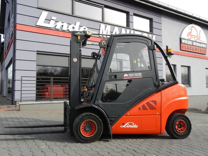 Linde H25D Side shift - 2011