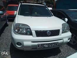 Nissan Xtrail clean KBL registration white fully loaded