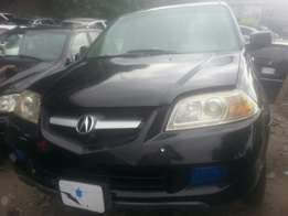 Tincan cleared tokunbo acura mdx 2006 fuloption