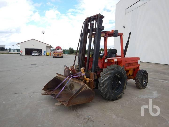 Manitou 2530F 4x4 Rough Terrain Forklift - 1979