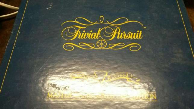 Trivial Pursuit Board game. 200r. New. Mowbray - image 2