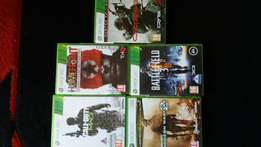 5 Xbox game to sell.