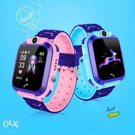 (1$=1500) Kids smart watch with camera SOS two-way