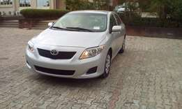 Super clean Toyota corolla 2010 with genuine custom papers