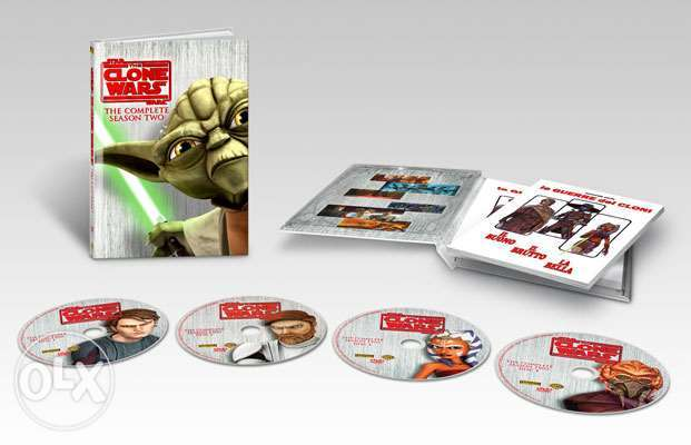 star wars clone wars season 2 original 4 dvds