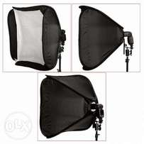 Neewer 60x60cm Flash speedlite Studio SoftBox with bracket n cary case