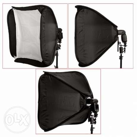 Neewer 60x60cm Flash speedlite Studio SoftBox with bracket n cary case Nairobi CBD - image 1
