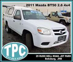 2011 Mazda BT-50 2.6 4x4 - A Bargain! For sale at TPC