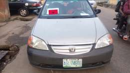 Clear Honda civic used 2002