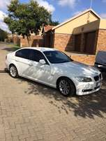 BMW 320D 2011 Model with tow bar