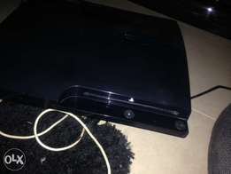 hacked PlayStation 3 console and 2good working pad