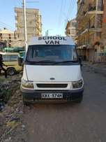 school van-ford transit in good working condition.