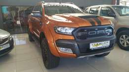 2017 Ford Ranger 3.2 XLT WildTrak Auto