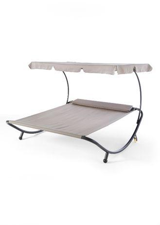 łóżko Ogrodowe Leżanka Leżak Plażowy Meble Ogrodowe