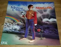 "marillon ""displaced childhood"" vinyl lp"