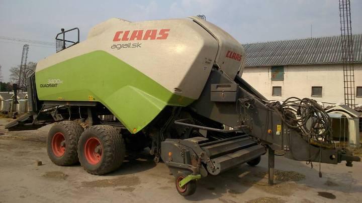 Claas Quadrant 3400 Rc - 2011