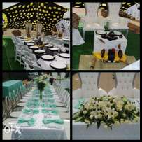 Stretch tent and decoration for hire