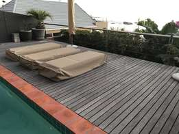 Balau decking - 50 square metre available