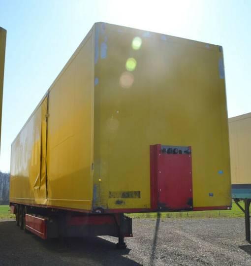 Panav NV35 Koffer mit Rolltor / Unfall !! - 2011
